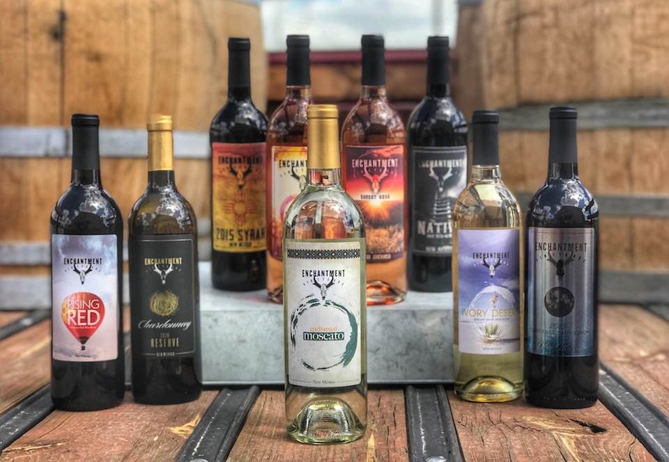 Enchantment Vineyards in New Mexico award winning wines from Finger Lakes International Wine Competition