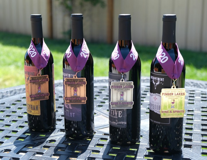 2020 Enchantment Vineyards award-winning wines