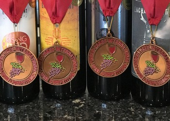 Enchantment Vineyards medal winners from Fingerlakes International Wine Competition