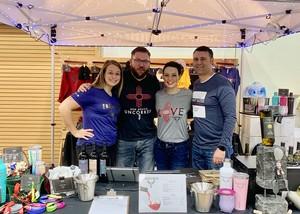 The Enchantment Vineyards team at the 2019 Wines in the Pines festival in Ruidoso, New Mexico