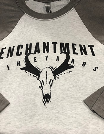 Enchantment Gray Baseball T-Shirt